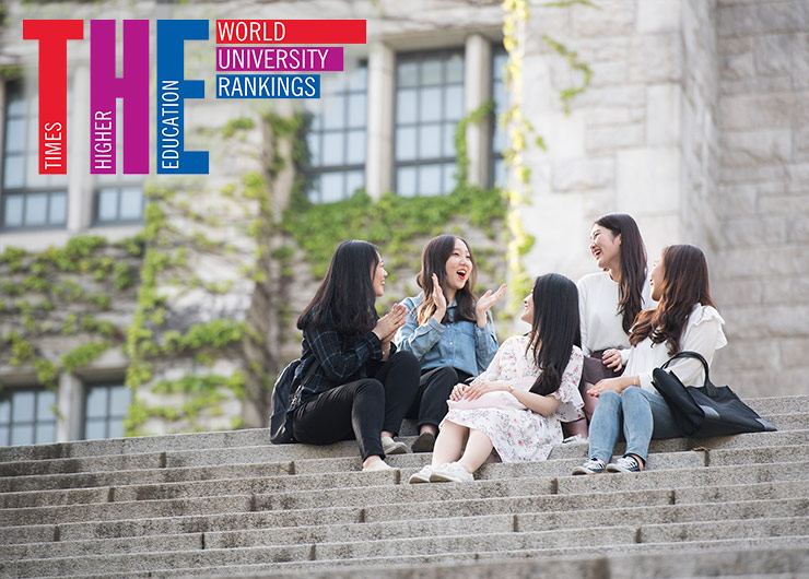 "Ewha is ranked No. 1 among Korean Universities in Gender Equality Category of ""THE University Impact Rankings 2020"""